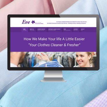 Eve Dry Cleaners | Website Design Adelaide